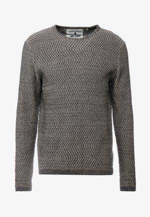 ONSJOHN CREW NECK - Stickad tröja - dark navy/griffen
