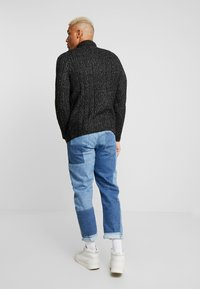 Only & Sons - HIGH NECK ZIPPER - Maglione - black - 2