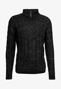 Only & Sons - HIGH NECK ZIPPER - Maglione - black - 3