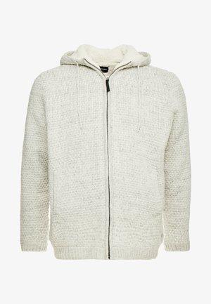 ONSKENNETH FULL ZIP - Vest - bone white