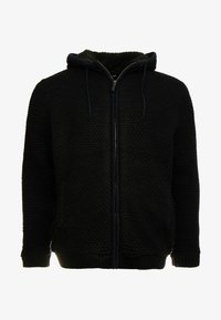 Only & Sons - ONSKENNETH FULL ZIP - Cardigan - black - 4
