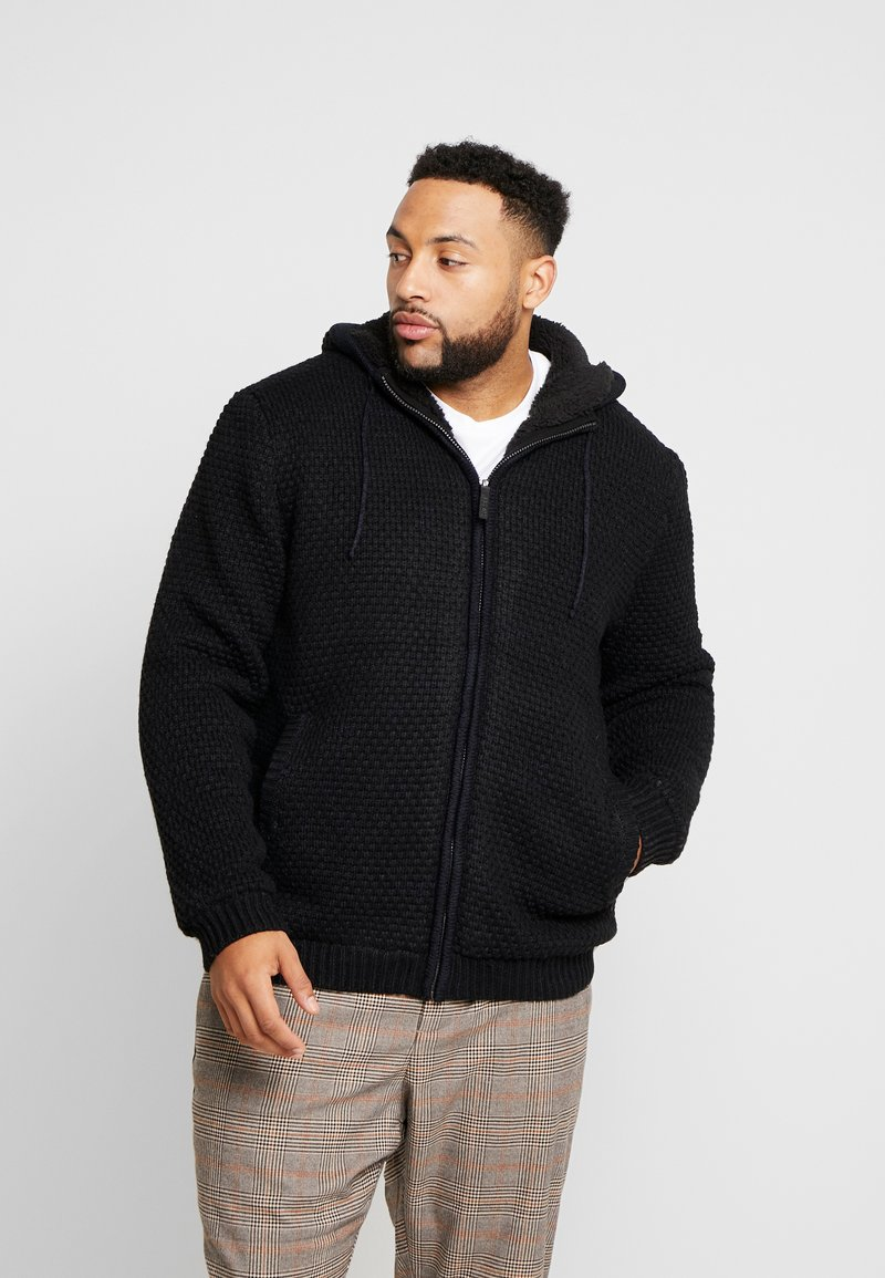 Only & Sons - ONSKENNETH FULL ZIP - Cardigan - black