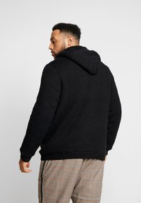 Only & Sons - ONSKENNETH FULL ZIP - Cardigan - black - 2