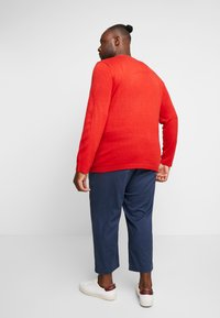 Only & Sons - ONSXMAS FUNNY BADGE - Jumper - pompeian red - 2