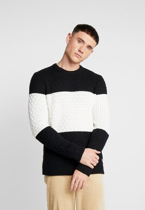 ONSRICK STRUCTURE CREW NECK  - Pullover - black