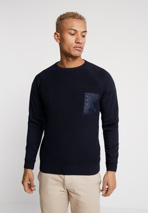 ONSNORIS CREW NECK - Strikkegenser - dress blues
