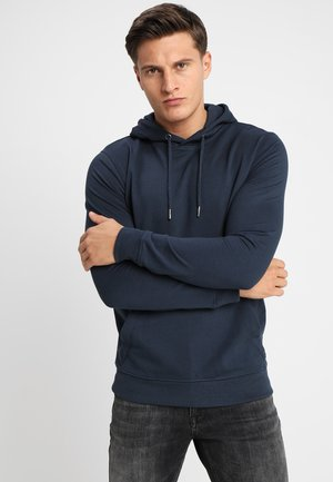 ONSBASIC HOODIE UNBRUSHED - Jersey con capucha - blue nights
