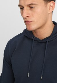 Only & Sons - ONSBASIC HOODIE UNBRUSHED - Felpa con cappuccio - blue nights - 3