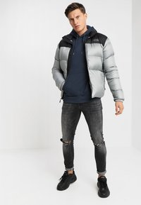 Only & Sons - ONSBASIC HOODIE UNBRUSHED - Felpa con cappuccio - blue nights - 1