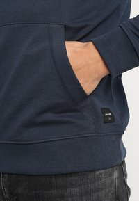 Only & Sons - ONSBASIC HOODIE UNBRUSHED - Felpa con cappuccio - blue nights - 5