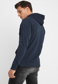 Only & Sons - ONSBASIC HOODIE UNBRUSHED - Felpa con cappuccio - blue nights - 2