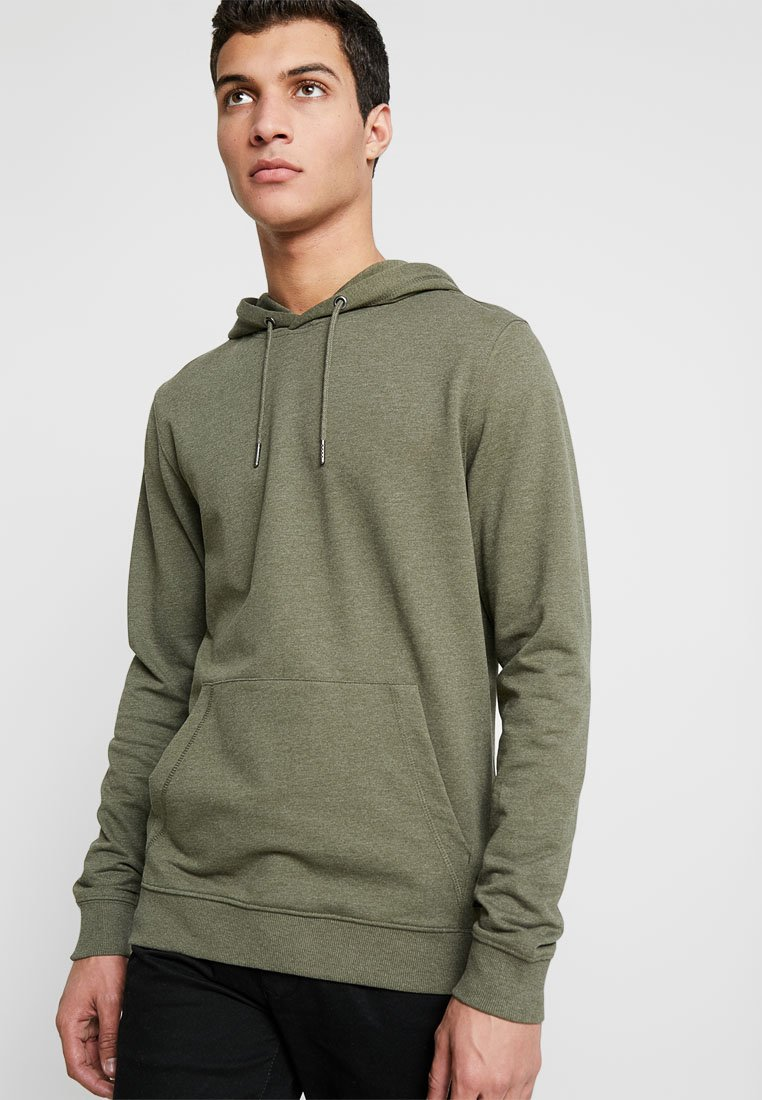 Only & Sons - ONSBASIC HOODIE UNBRUSHED - Kapuzenpullover - olive night