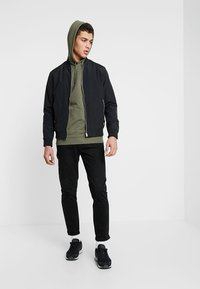 Only & Sons - ONSBASIC HOODIE UNBRUSHED - Hoodie - olive night - 1