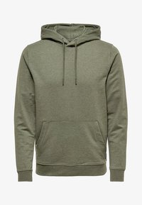 Only & Sons - ONSBASIC HOODIE UNBRUSHED - Hoodie - olive night - 3