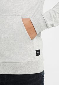 Only & Sons - ONSBASIC ZIP HOODIE UBRUSHED - Zip-up hoodie - light grey melange - 5