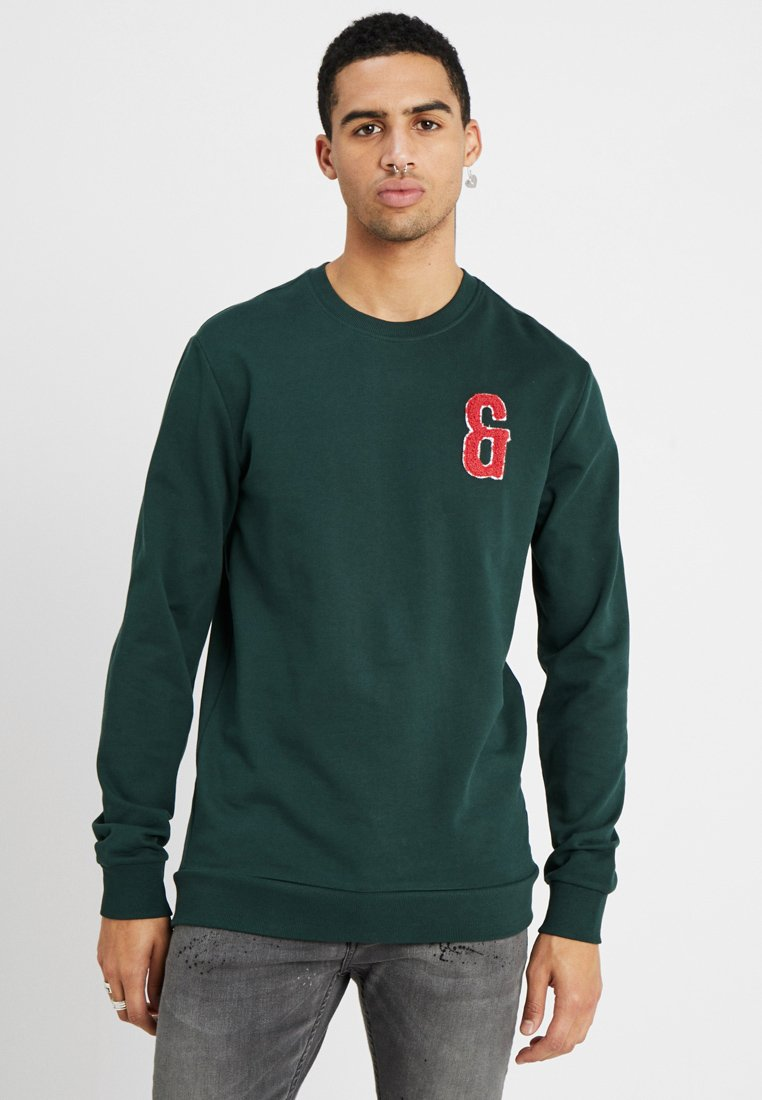 Only & Sons - ONSNIK PATCH CREW NECK - Mikina - pine grove