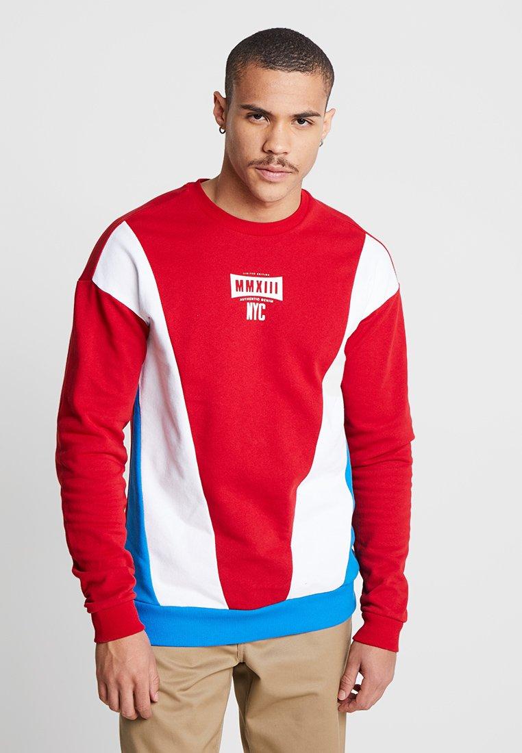 Only & Sons - ONSSPADE CREW NECK - Sweatshirt - red