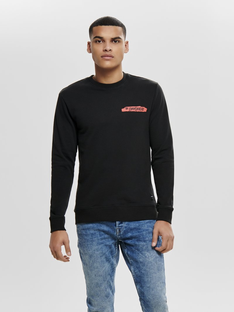 Only & Sons - Sweater - black