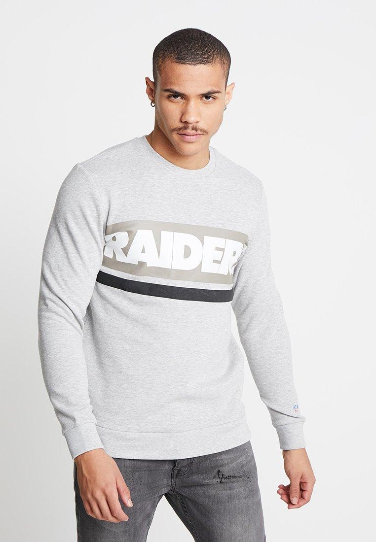 Only & Sons - ONSNFL CLUB CREW - Sweatshirt - light grey melange