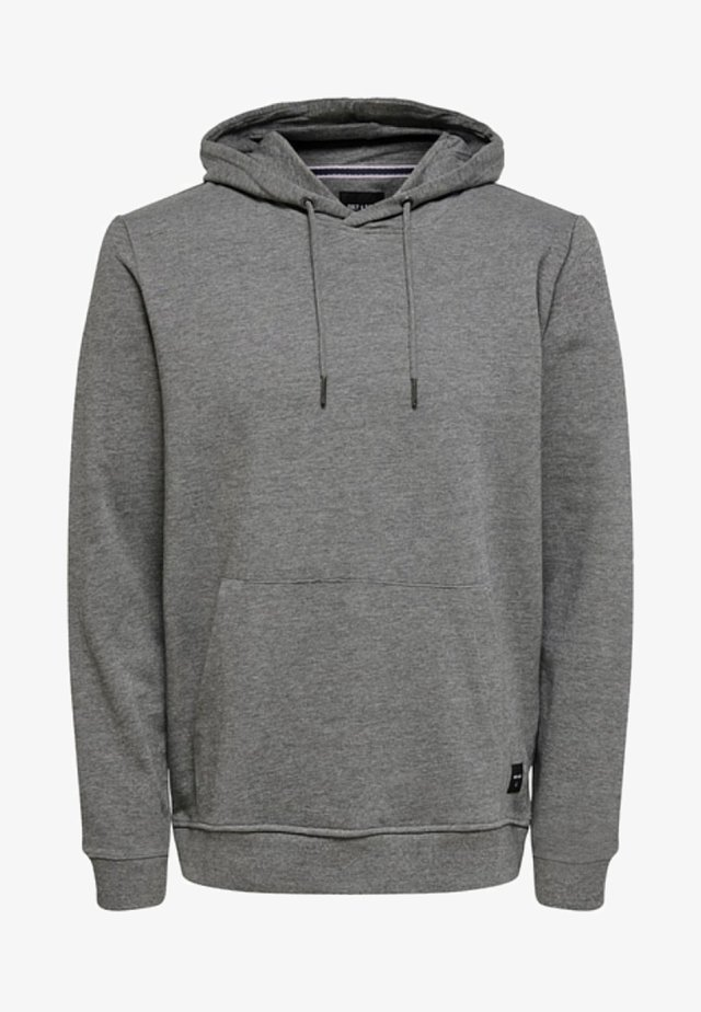 Sweat à capuche - dark grey
