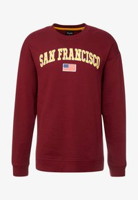 Only & Sons - ONSTIGER OVERSIZED CREW SWEAT - Sweatshirts - cabernet - 3