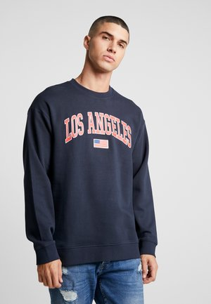 ONSTIGER OVERSIZED CREW SWEAT - Sweatshirt - dark navy
