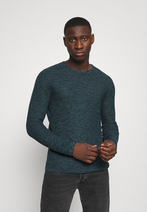 ONSWICTOR STRUCTURE CREW NECK - Sweter - gibraltar sea