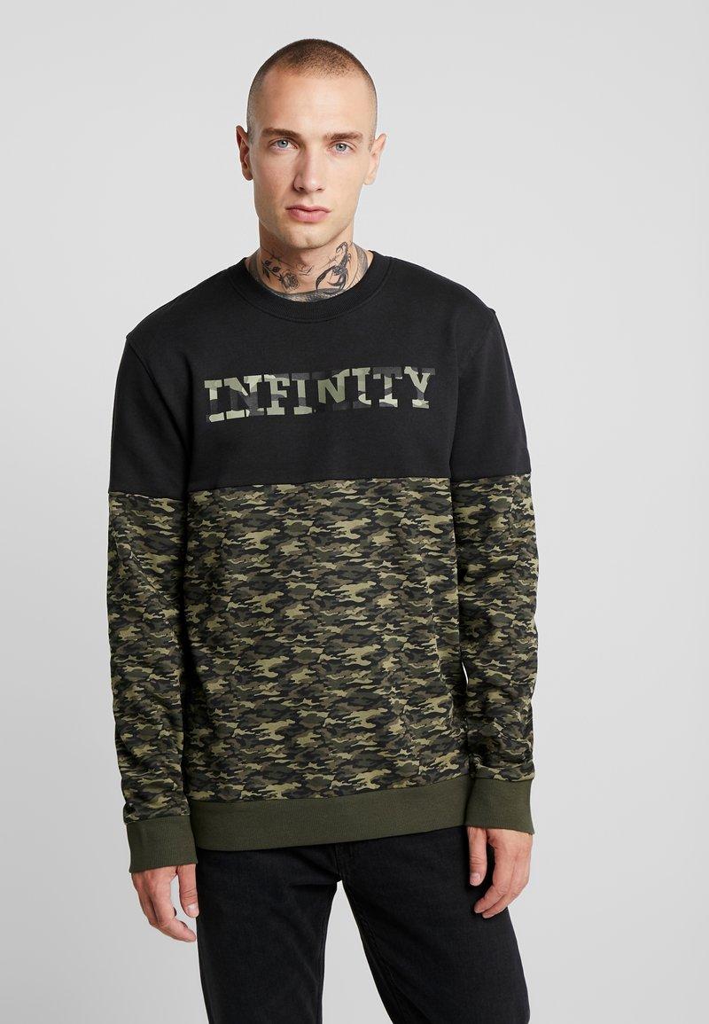 Only & Sons - ONSINFINITY CREW NECK - Sweatshirts - black