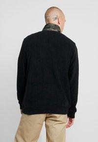 Only & Sons - ZIP HIGH NECK - Fleece trui - black - 2