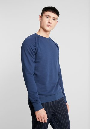 ONSMKIRK RAGLAN CREWNECK - Sweatshirt - dress blues
