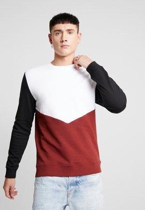 ONSMER CREWNECK  - Sweater - madder brown
