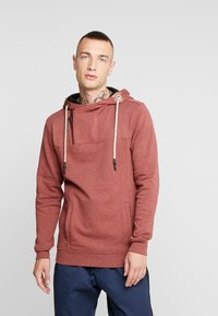 Only & Sons - ONSMKLAUS - Jersey con capucha - madder brown - 0