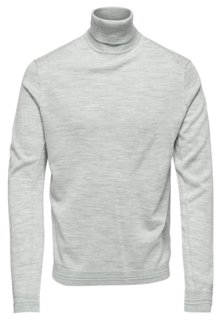 Only & Sons Sweter - light grey melange