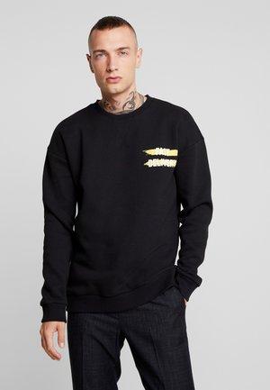 ONSLI REGULAR CREW NECK - Sweatshirt - black