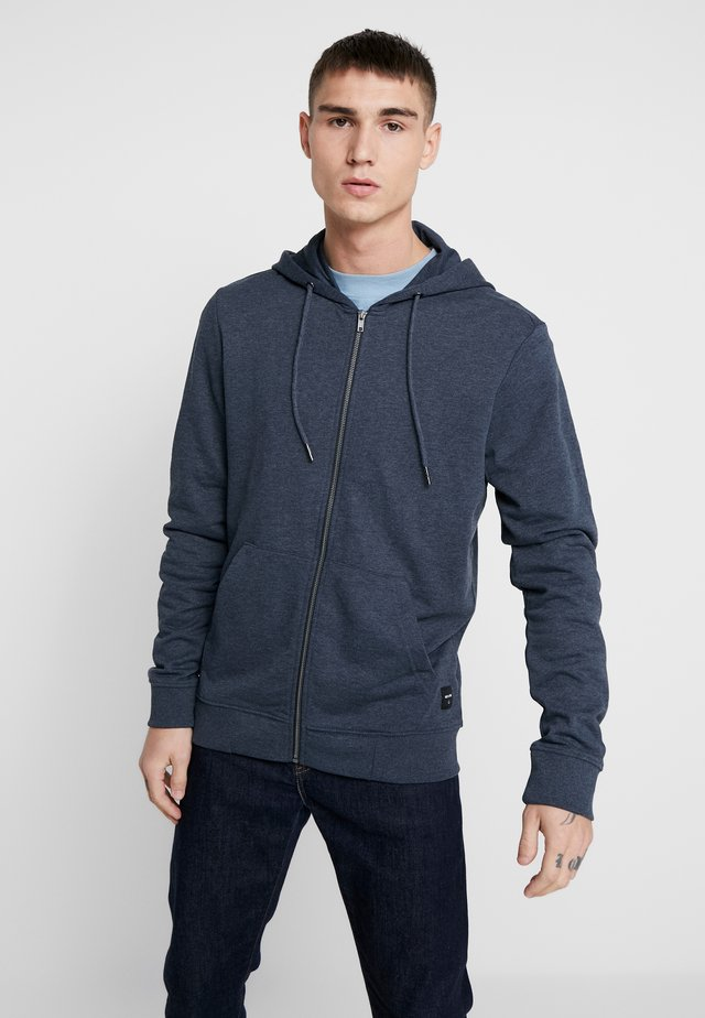ONSWINSTON ZIP HOODIE - Zip-up hoodie - dress blues
