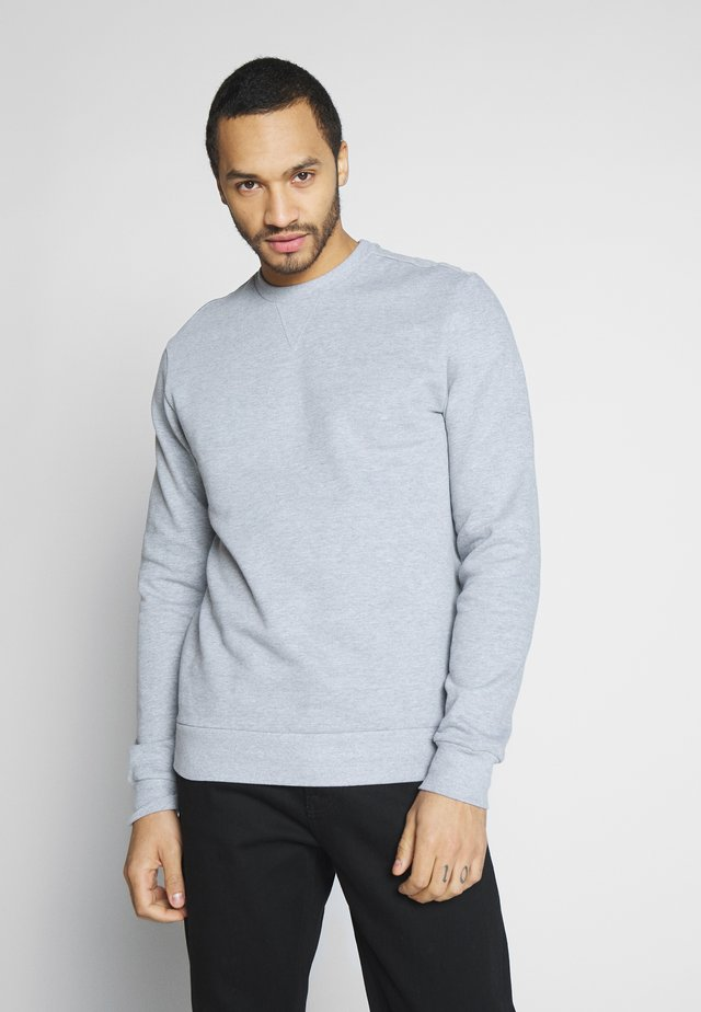 ONSORGANIC CREW NECK - Sweatshirt - medium grey melange