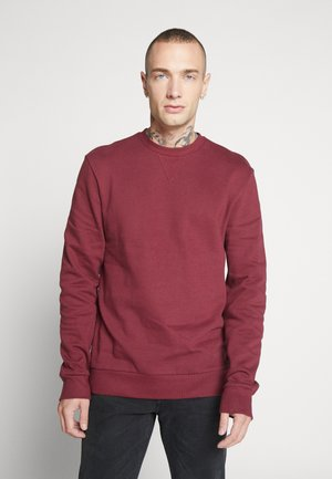 ONSORGANIC CREW NECK - Sweatshirt - bordeaux
