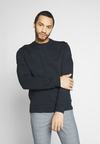 Only & Sons - ONSORGANIC CREW NECK - Sudadera - black - 0