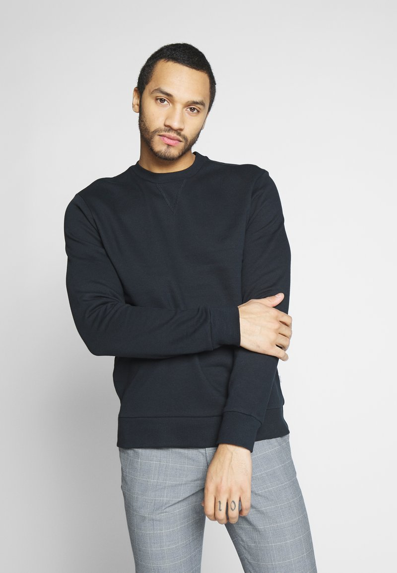 Only & Sons - ONSORGANIC CREW NECK - Sudadera - black