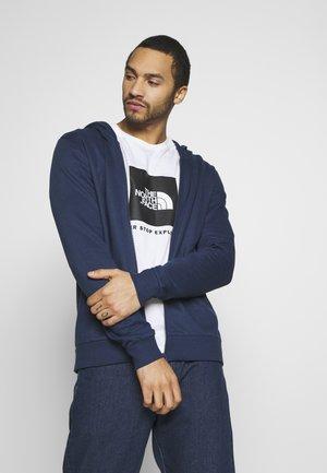 ONSORGANIC REG  ZIP HOODIE  - veste en sweat zippée - dress blues