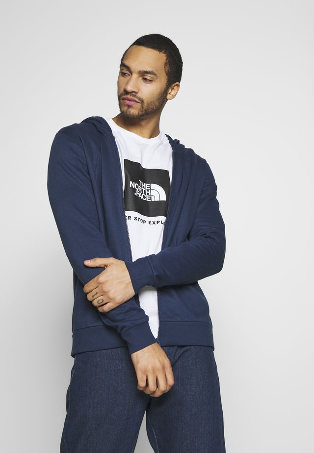 ONSORGANIC REG  ZIP HOODIE  - Zip-up hoodie - dress blues