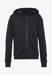 Only & Sons - ONSORGANIC REG  ZIP HOODIE  - Zip-up hoodie - black - 4