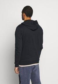 Only & Sons - ONSORGANIC REG  ZIP HOODIE  - Zip-up hoodie - black - 2