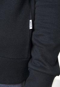 Only & Sons - ONSORGANIC REG  ZIP HOODIE  - Zip-up hoodie - black - 5