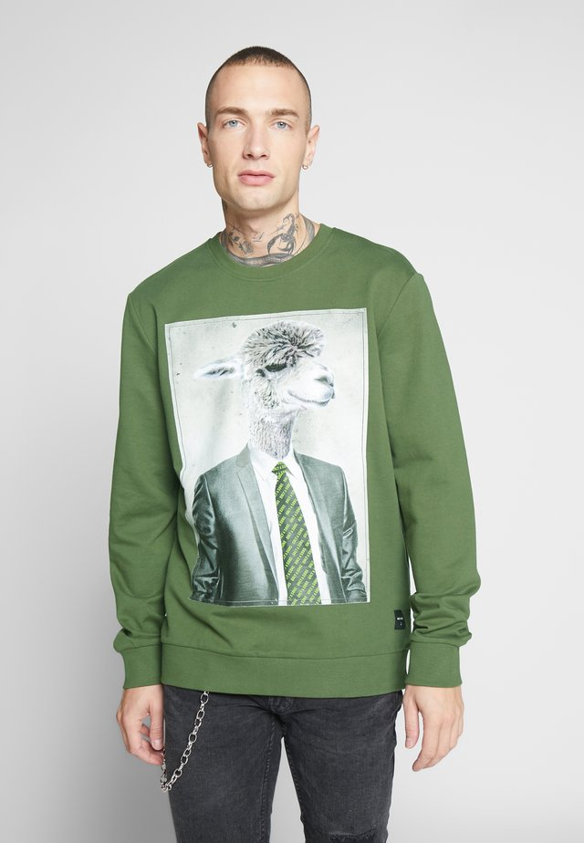 ONSNEMO REGULAR CREW NECK  - Sweatshirt - olive night