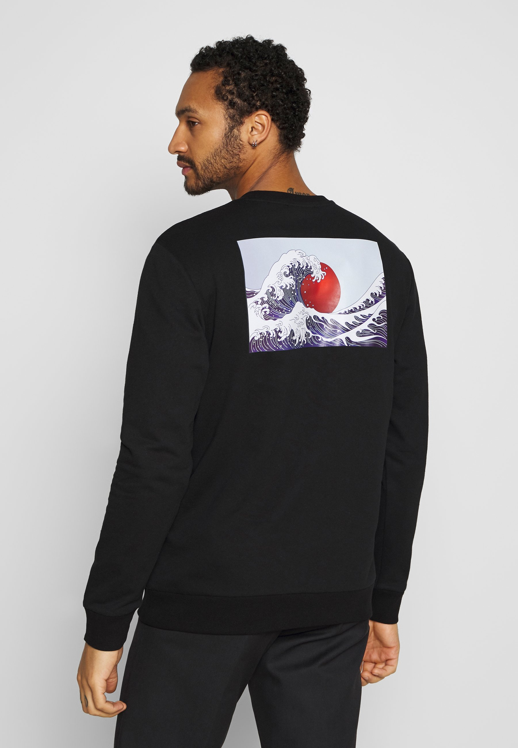 Only & Sons ONSGREATWAVE CREW NECK - Bluza - black