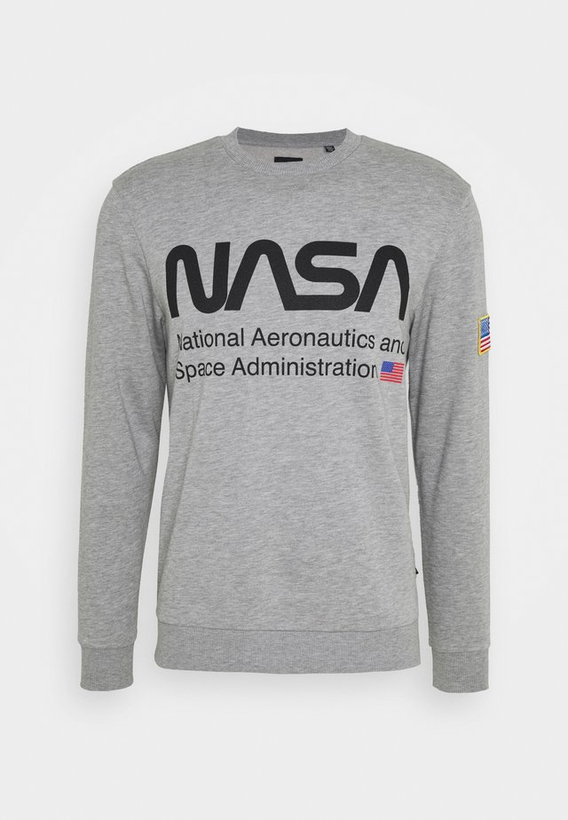 ONSNASA CREW NECK - Sudadera - light grey melange