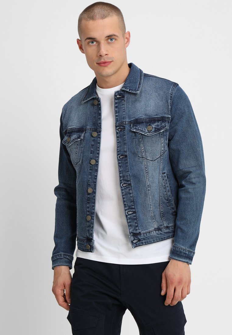Only & Sons - ONSCOIN  - Jeansjacka - blue denim