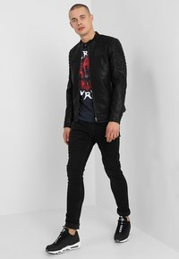 Only & Sons - ONSSACHO - Giacca in similpelle - black - 1