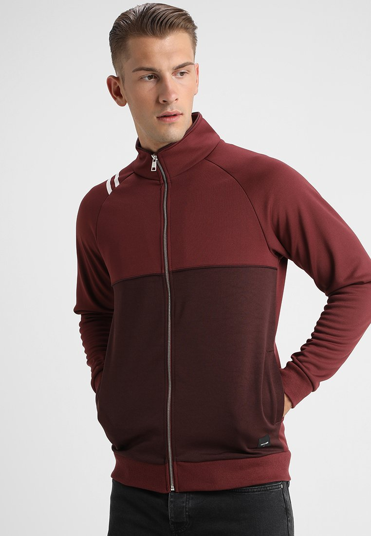 Only & Sons - ONSTEO TRACK JACKET - Training jacket - red mahogany